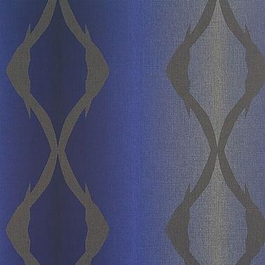 Walls Republic Winding 32.97'' x 20.8'' Stripes Wallpaper; Azure