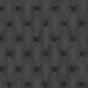 Walls Republic Tufted 32.97'' x 20.8'' Solid Wallpaper; Black