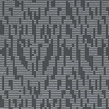 Walls Republic Disconnect 32.5'' x 27.5'' Geometric Wallpaper; Dark Gray