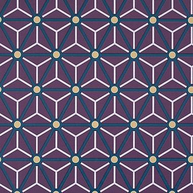 Walls Republic Hexagonal 32.97'' x 20.8'' Geometric Wallpaper; Byzantium
