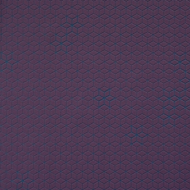 Walls Republic Cubed 32.97'' x 20.8'' Geometric Wallpaper; Byzantium