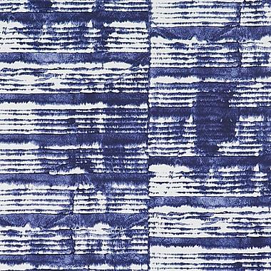 Walls Republic Tie Dye 32.97'' x 20.8'' Abstract Wallpaper; Azure