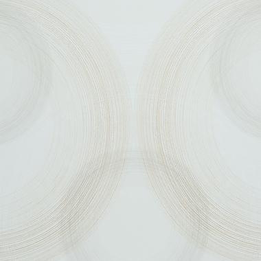 Walls Republic Rings 32.97'' x 20.8'' Geometric Wallpaper; Gold