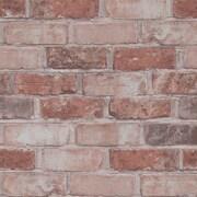 Walls Republic 32.97' x 20.8'' Faux Running Brick Wallpaper; Marsala