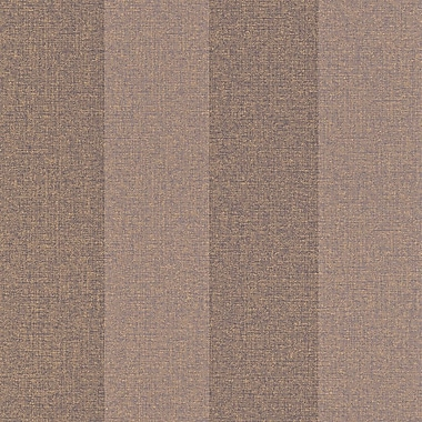Walls Republic 33' x 20.8'' Striped Woven Ritz Wallpaper; Plum