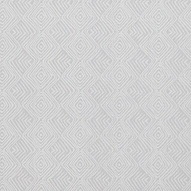 Walls Republic 33' x 20.8'' Geometric Tribal Print Wallpaper; Grey / White