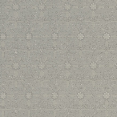 Walls Republic Classic 32.5' x 27.5'' Floral Damask in the Forest Wallpaper; Grey / Beige