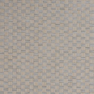 Walls Republic Grasscloth 18' x 36'' Checkerboard Wallpaper Roll