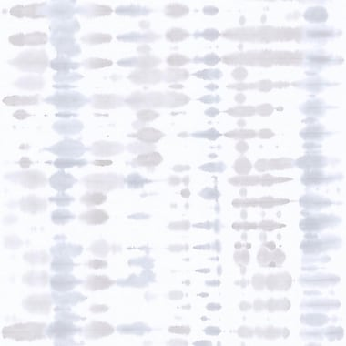 Walls Republic Retro Tie Dye Abstract 33' x 20.8'' Wallpaper Roll; Gray / Taupe