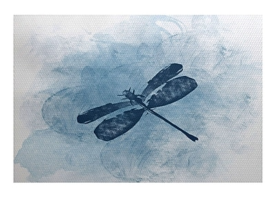 August Grove Oneill Blue/Gray Indoor/Outdoor Area Rug; 4' x 6'