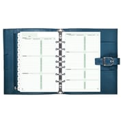 "Day-Timer® Starter Set, Undated, 7 Ring, Desk Size, 5 1/2"" x 8 1/2"", Teal (70301)"
