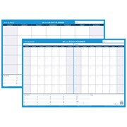 """2017 AT-A-GLANCE® 30/60-Day Undated Horizontal Erasable Wall Calendar, Reversible, 36"""" x 24"""" (PM233P-28)"""