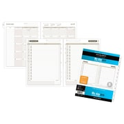 "AT-A-GLANCE® Day Runner® Daily Planner Refill, One Page Per Day, Loose-Leaf, 12 Months, January Start,  8 1/2""x11"" (491-125-18)"