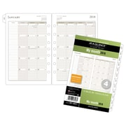 "AT-A-GLANCE® Day Runner® Monthly Loose-Leaf Planner Refill Pages, 12 Months, January Start,  5 1/2""x8 1/2"" (481-685Y-18)"