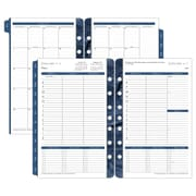 Franklin Covey Monticello Dated One-Page-Per-Day Planner Refill, 5 1/2 X 8 1/2, 2018 (37062-18)