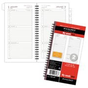 "AT-A-GLANCE® Day Runner® Weekly Planner Refill, 12 Months, January Start, Wirebound, Size 2, 3 1/4""x6 3/8"" (064-287-18)"