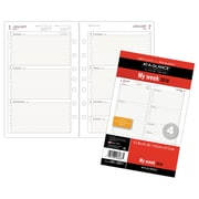 "AT-A-GLANCE® Day Runner® Weekly Planner Refill, 12 Months, January Start, Loose-Leaf,  5 1/2""x 8 1/2"" (061-285Y-18)"