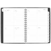 "AT-A-GLANCE® Signature Collection™ Weekly/Monthly Planner, 13 Months, January Start, 5 3/4""x8 1/2"", Heather Gray (YP200-4518)"