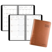 "AT-A-GLANCE® Contemporary Weekly/Monthly Planner, 12 Months, January Start, 4 7/8""x8"", Copper (70-100X-70-18)"