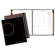 "AT-A-GLANCE® Plan. Write. Remember.® Monthly Planning Notebook, 12 Months, January Start, 8 1/2""x11"", Black (70-5260-00-18)"