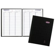 "AT-A-GLANCE® DayMinder® Premiere Pink Ribbon Weekly Appointment Book, 12 Months, January Start, 8""x10 7/8"", Black (G520P-00-18)"