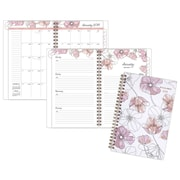 "AT-A-GLANCE® Blush Weekly/Monthly Planner, 12 Months, January Start, 4 7/8""x8"", Multicolor (1041-200-18)"