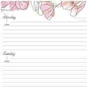 """AT-A-GLANCE® Blush Weekly/Monthly Planner, 12 Months, January Start, 4 7/8""""x8"""", Multicolor (1041-200-18)"""