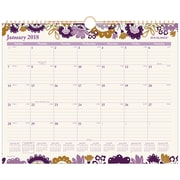 "AT-A-GLANCE® Ingrid Monthly Wall Calendar, 12 Months, January Start, 15""x12"", Wirebound (W1042-707-18)"