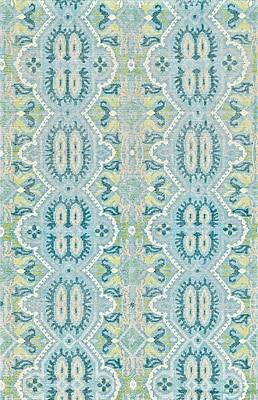 Bloomsbury Market Deija Hand-Knotted Celadon Area Rug; 9'6'' x 13'6''