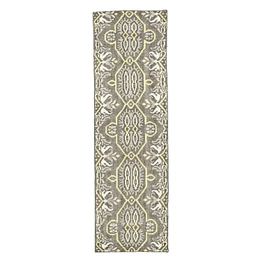 Bloomsbury Market Deija Hand-Knotted Maize Area Rug; Runner 2'6'' x 8'