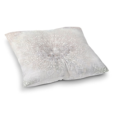 Bungalow Rose Kangana Square Indoor/Outdoor Floor Pillow; 26'' H x 26'' W