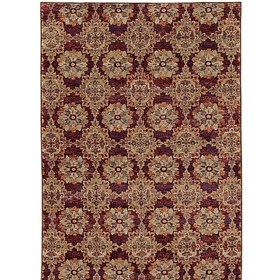 Bloomsbury Market Rosalia Red/Orange Area Rug; 1'10'' x 3'3''