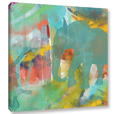 Bloomsbury Market 'Spectacular Effect II' Painting Print on Wrapped Canvas; 18'' H x 18'' W x 2'' D