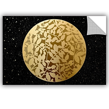 Bloomsbury Market Addison Golden Spheres 01 Removable Wall Decal; 08'' H x 12'' W x 0.1'' D