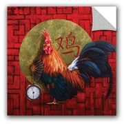 Bloomsbury Market Alexander Keeper of Time Wall Decal; 36'' H x 36'' W x 0.1'' D