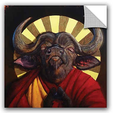 Bloomsbury Market Alexander Holy Cow II Wall Decal; 24'' H x 24'' W x 0.1'' D