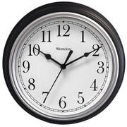 Darby Home Co Elayna Decorative 9'' Wall Clock; Black