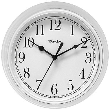 Darby Home Co Elayna Decorative 9'' Wall Clock; White