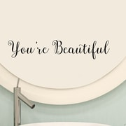 DecaltheWalls You're Beautiful Vinyl Wall Decal