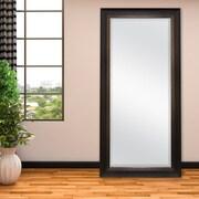 Darby Home Co Davet Beveled Leaner Full Length Mirror; Bronze
