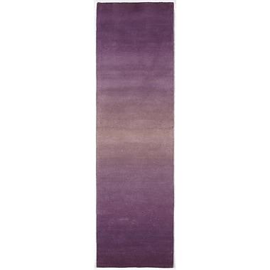 Brayden Studio Belding Purple Horizon Area Rug; Runner 2'3'' x 8'