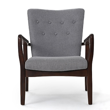 George Oliver Galen Armchair; Gray