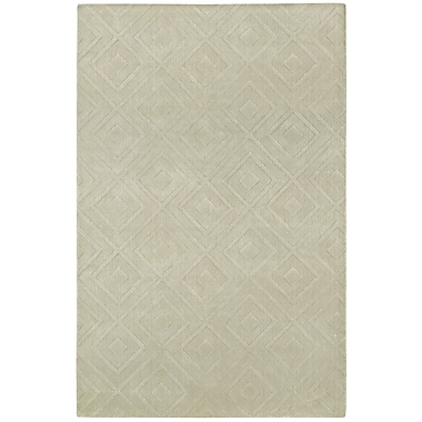 George Oliver Clarkstown Hand-Loomed Sand Area Rug; Runner 2'2'' x 8'