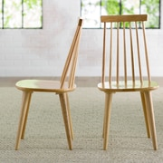 George Oliver Clarence Side Chair (Set of 2); Natural