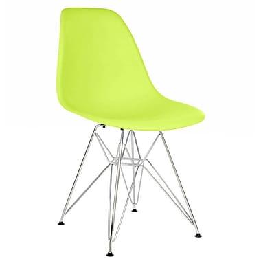 George Oliver Hammond Modern Side Chair; Green