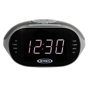 Jensen Digital AM/FM Dual Radio w/ Bluetooth Tabletop Clock