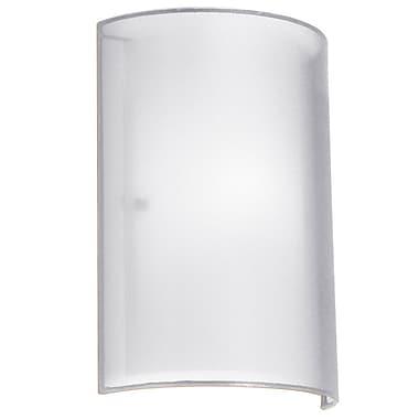 Orren Ellis Dionysus 1-Light Wall Sconce; White