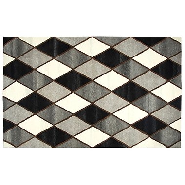 Orren Ellis Pavonis Hand-Tufted Gray Area Rug; 5' x 8'