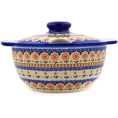 Polmedia Amarillo Polish Pottery 3.15 qt. Tureen