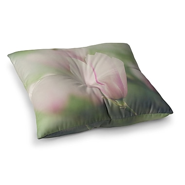 East Urban Home Laura Evans a Magnolia Square Floor Pillow; 26'' x 26''